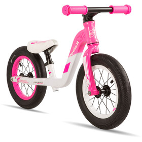 s'cool pedeX 1 Niños, pink/grey matt